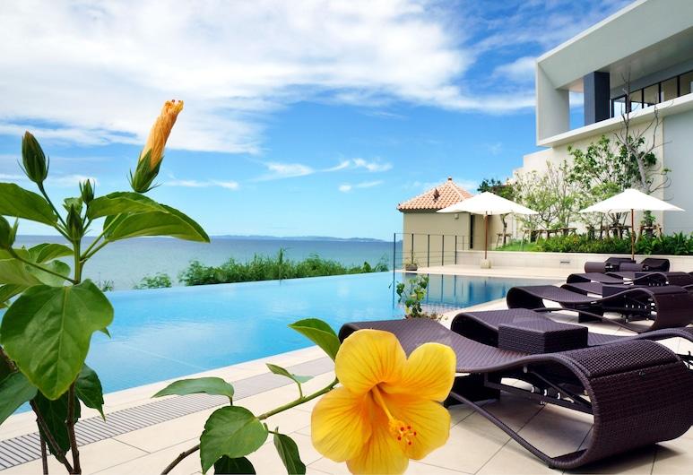 琉球溫泉瀨長島飯店, 豐見城, 無邊際泳池