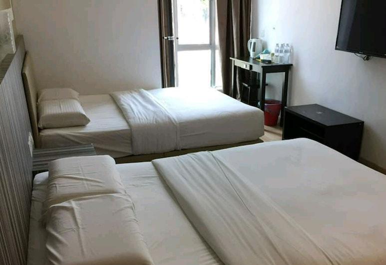 Sun Inns Hotel Ayer Keroh, Malacca City, Trivietis kambarys šeimai, 1 miegamasis, vaizdas į miestą, Svečių kambarys