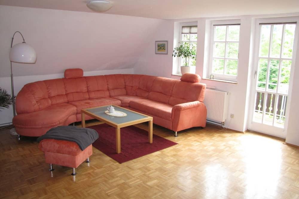 Appartement, 2 chambres, cuisine (Ferienwohnung) - Coin séjour