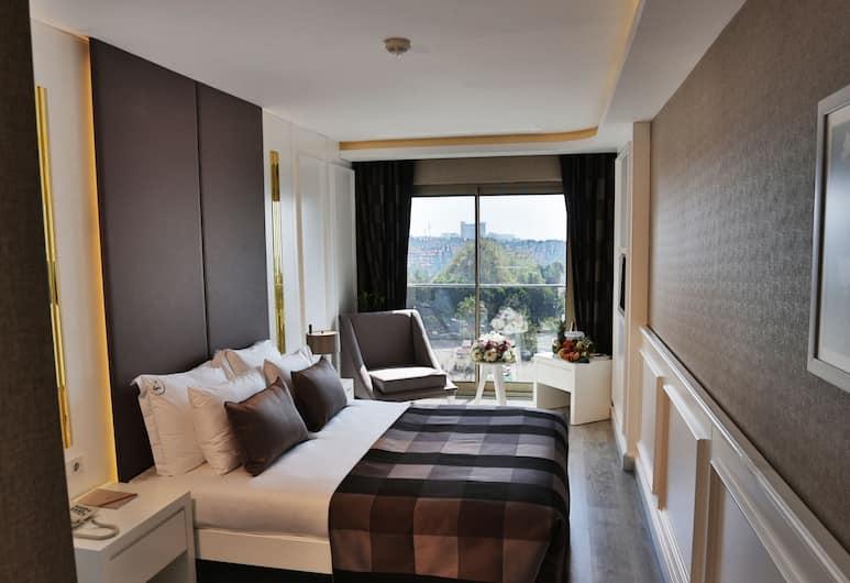 Sky Kamer Hotel, Antalya, Standard dubbelrum - havsutsikt, Utsikt från gästrum