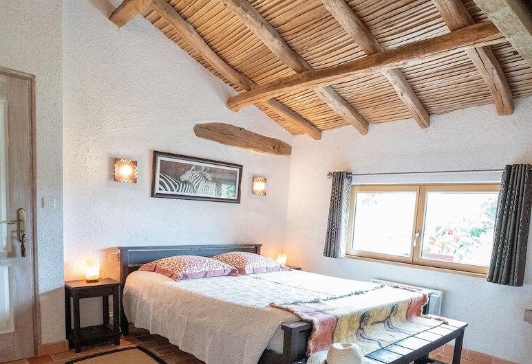 穀倉旅館, 博普雷歐昂默日, 傳統平房, 獨立浴室, 花園景觀 (fleurs de soleil), 客房