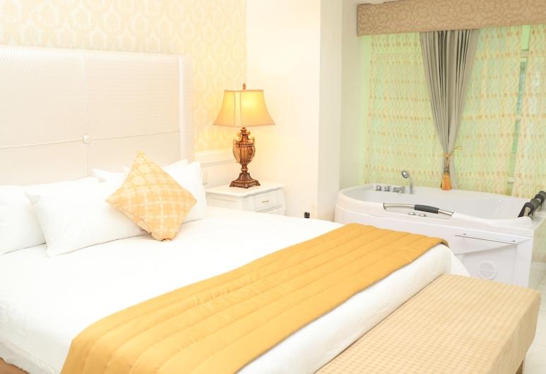 總統精品酒店, 瓜亞基爾, 豪華套房, 1 間臥室, 熱水浴缸, 客房