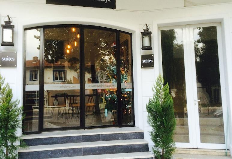 Downtown Fethiye Suites, Fethiye, Otel girişi
