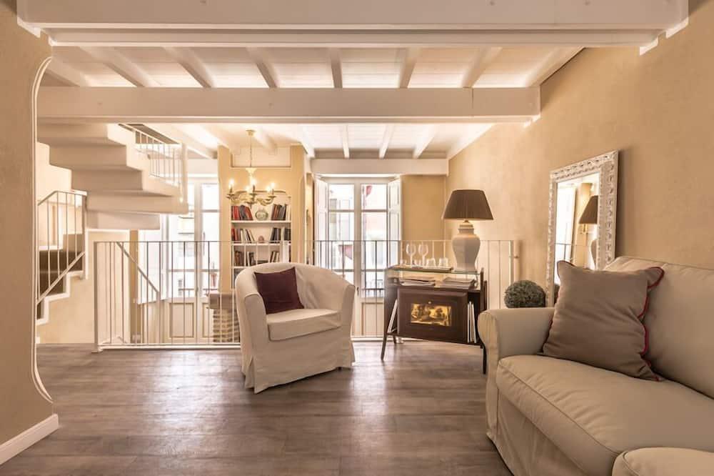 Comfort suite, 1 slaapkamer, Balkon - Woonruimte