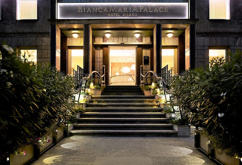 Hotel Bianca Maria Palace, Milan, Pintu Masuk Hotel