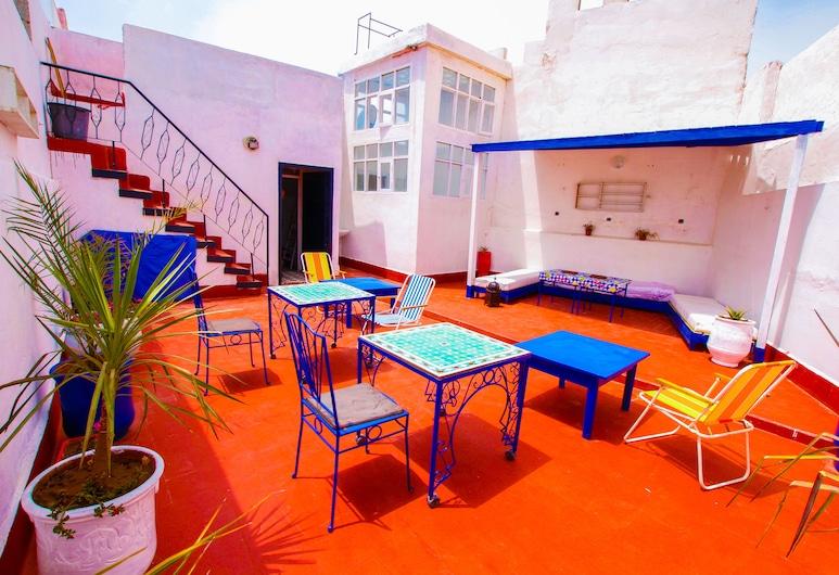 White and Blue, Esauira, Terraza o patio
