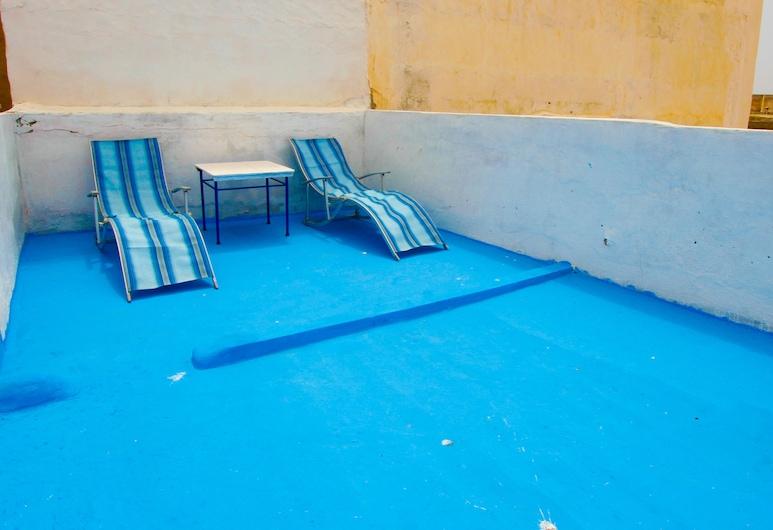 White and Blue, Essaouira, Terrace/Patio