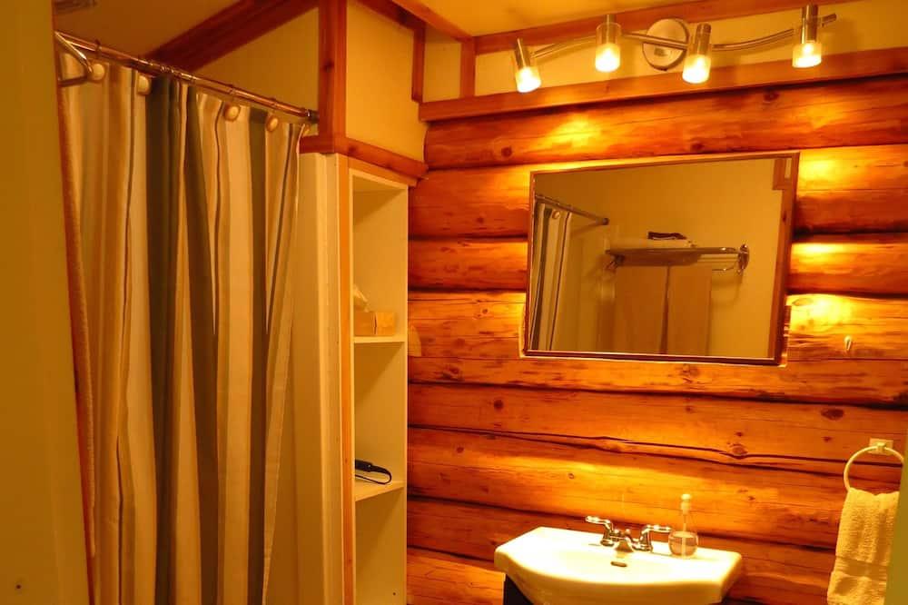 Kabin, 1 kamar tidur, dapur - Kamar mandi