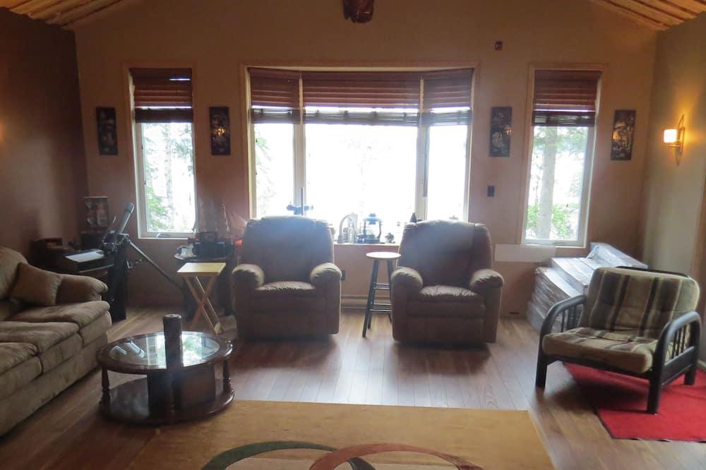 Cabaña, 3 habitaciones - Zona de estar