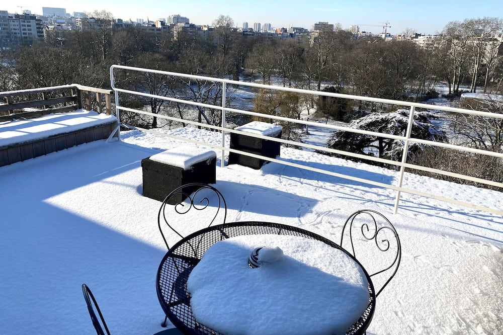 Panoramic Penthouse, 1 Bedroom, Park View - Terrace/Patio