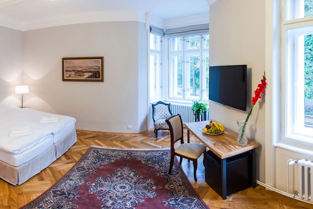 Pokój dwuosobowy z 1 lub 2 łóżkami, Widok (with extra bed - 1,8) - Salon