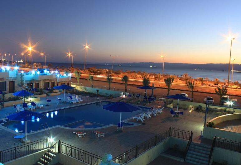 Almarsa Village Dive Resort, Aqaba, View from Hotel