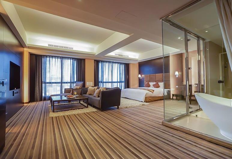Justwin Grand Hotel, Tainan, Numeris verslo klientams, Svečių kambarys