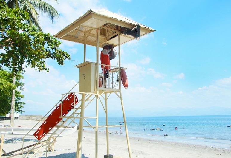 多洛雷斯康納渡假村, 桑托斯將軍城, 海灘