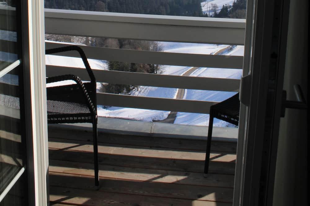 Driepersoonskamer, 1 tweepersoonsbed met slaapbank - Balkon