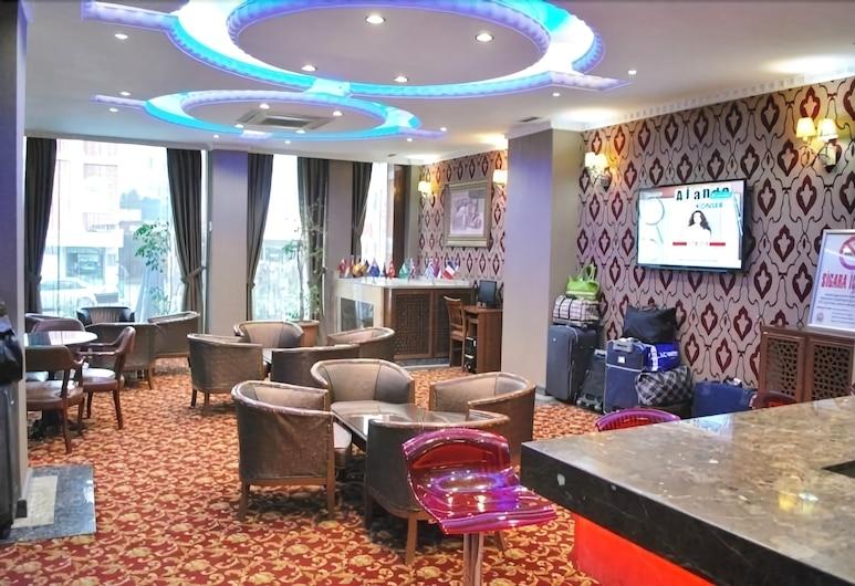 Topkapi Sabena Hotel, Istanbul, Eteisaula