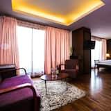 Prabangaus stiliaus kambarys - Svetainės zona