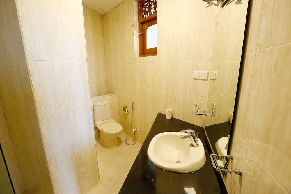 Deluxe-dobbeltværelse - havudsigt - Badeværelse