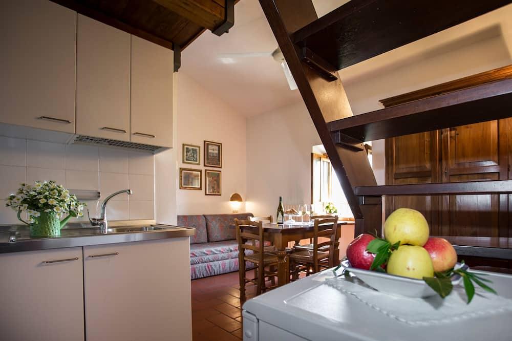 Soukromý byt - Obývací prostor