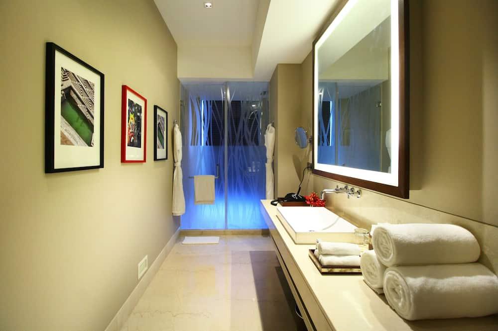 럭셔리룸, 킹사이즈침대 1개 - 욕실