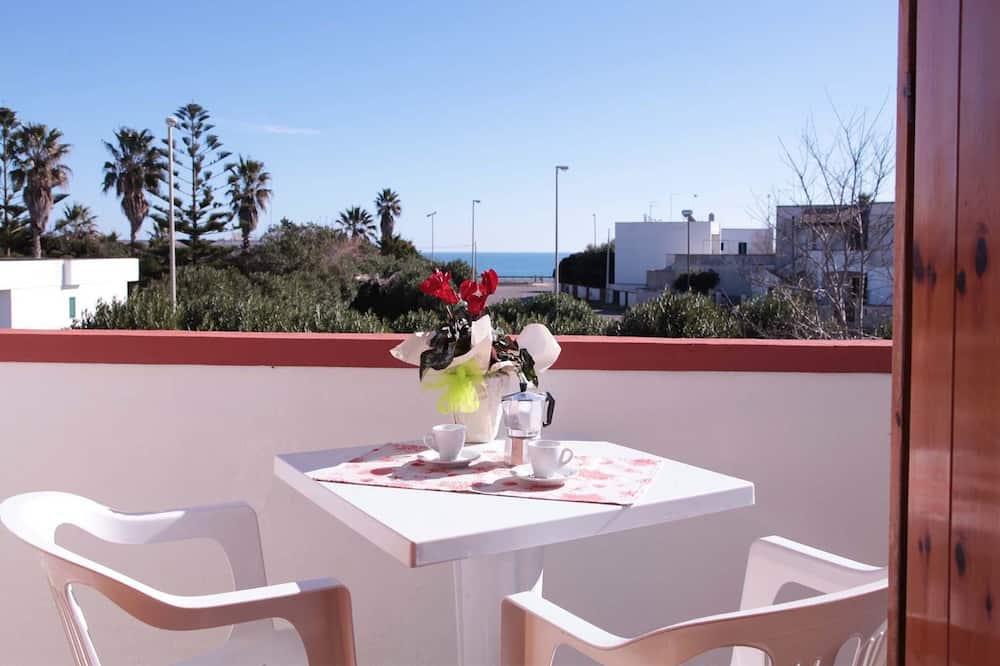 公寓, 2 間臥室, 海景 - 露台