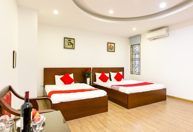 OYO 668 New Amely hotel, Hanoi, Deluxe Triple Room, Guest Room