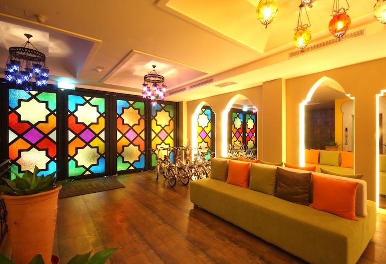 温暖摩洛哥精緻旅店, 花蓮市, 入口