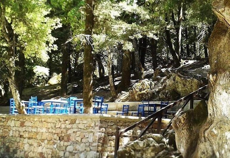 Elafos Hotel, Rhodes, Tempat Makan Luar