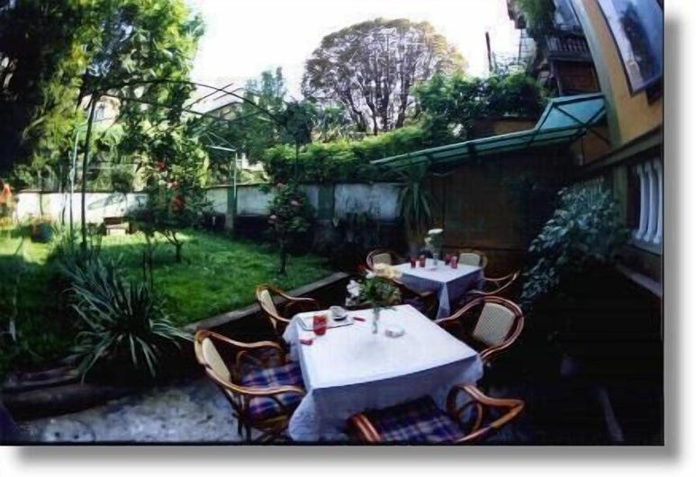 Hotel Gran Sasso, Μιλάνο, Κήπος