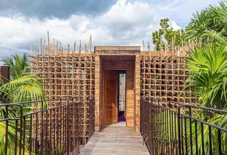 Nomade Tulum, Tulum, Rom – deluxe, 1 dobbeltseng (Treehouse), Balkong