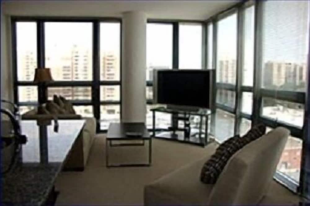 Luksuzni apartman, 2 spavaće sobe, 2 kupaonice - Dnevni boravak