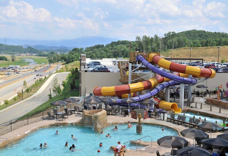 Wilderness at the Smokies - Stone Hill Lodge, Sevierville, פארק מים