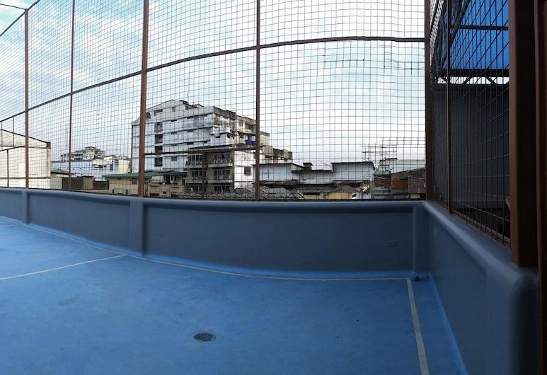 大西洋蔚藍酒店, 瓜亞基爾, 網球場