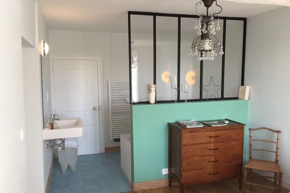 Cottage Romantique, salle de bains attenante, vue parc - Salle de bain