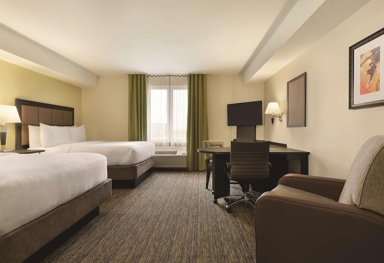 Park Inn by Radisson, Calgary Airport North, AB, Calgary, Suite Studio, 2 grands lits, non-fumeurs, Chambre