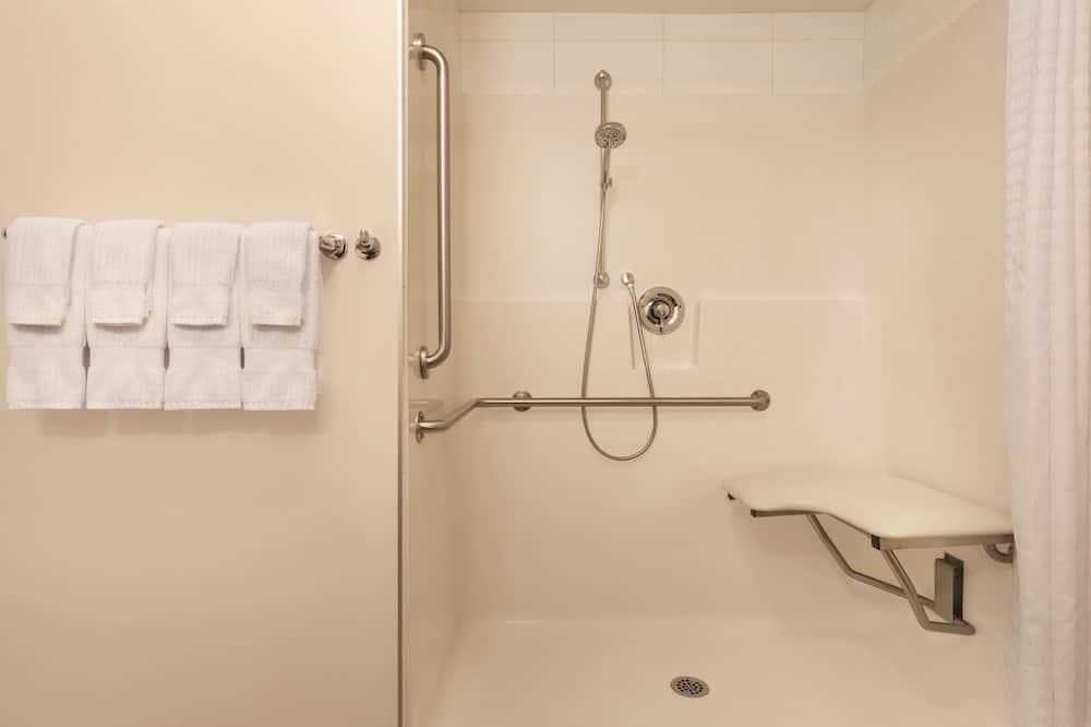 Studiosvit - 1 queensize-säng - tillgänglighetsanpassat - icke-rökare (1 bedroom -Rollin Shower) - Badrum