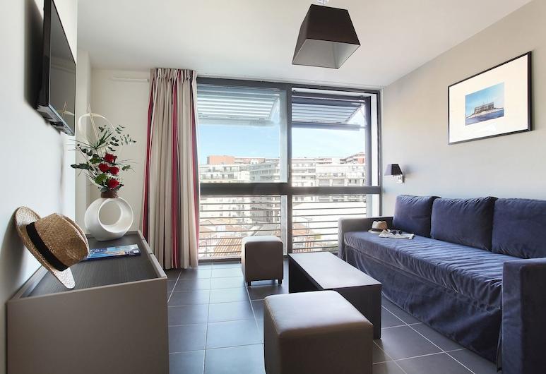 Odalys City Marseille Prado Castellane, Marseille, Apartment, 1 Schlafzimmer (4 People), Wohnbereich