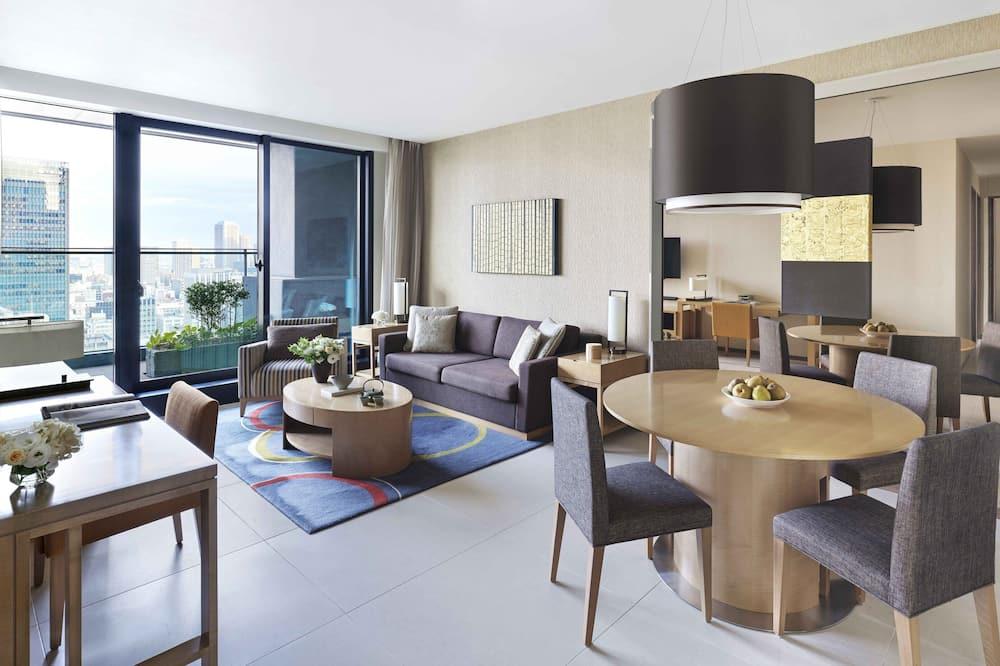 Pokój Executive, 3 sypialnie - Powierzchnia mieszkalna