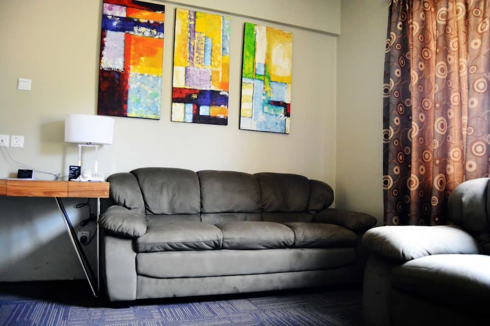 Double Suite - Зона гостиной