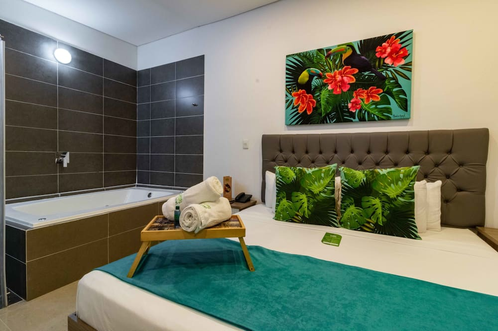 Suite superior, 1 cama King size - Bañera de hidromasaje privada