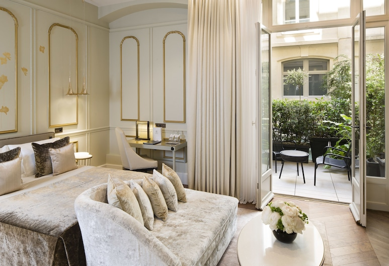 Hotel Le Narcisse Blanc & Spa, Paris, Executive Double Room, Accessible, Ground Floor, Bilik Tamu