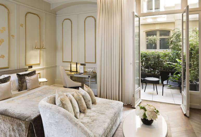 Hotel Le Narcisse Blanc & Spa, Paris, Executive Double Room, Accessible, Ground Floor, Guest Room