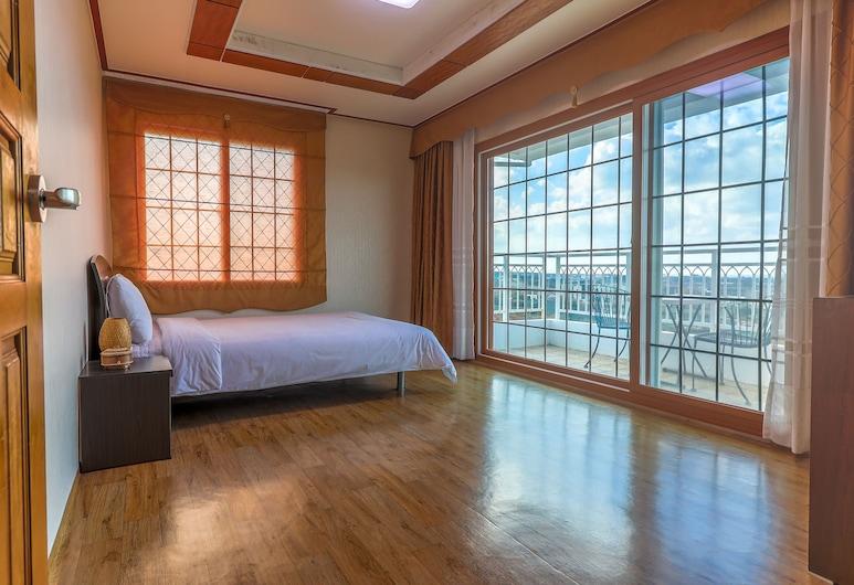 安特雷旅館, Jeju City, 豪華雙人房, 客房