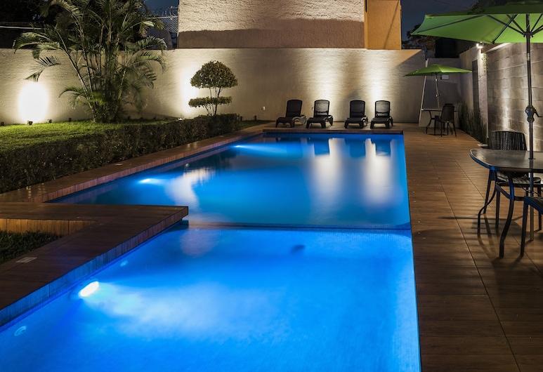 白金展覽酒店, 瓜達拉哈拉, 室外泳池