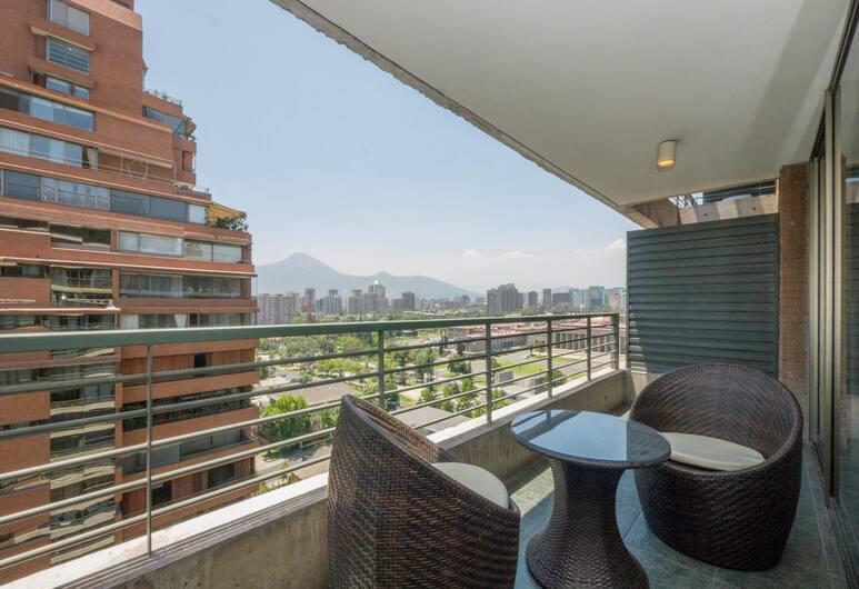 Livinnest Apartments, Santiago, Lägenhet Executive - 1 sovrum, Balkong