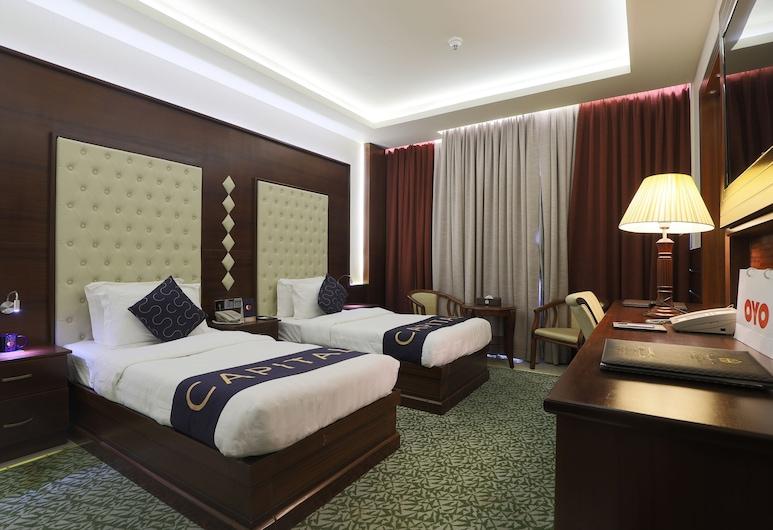 Capital O 325 Queen Palace Hotel, Abu Dabis, Standartinio tipo kambarys (1 dvigulė / 2 viengulės lovos), Svečių kambarys