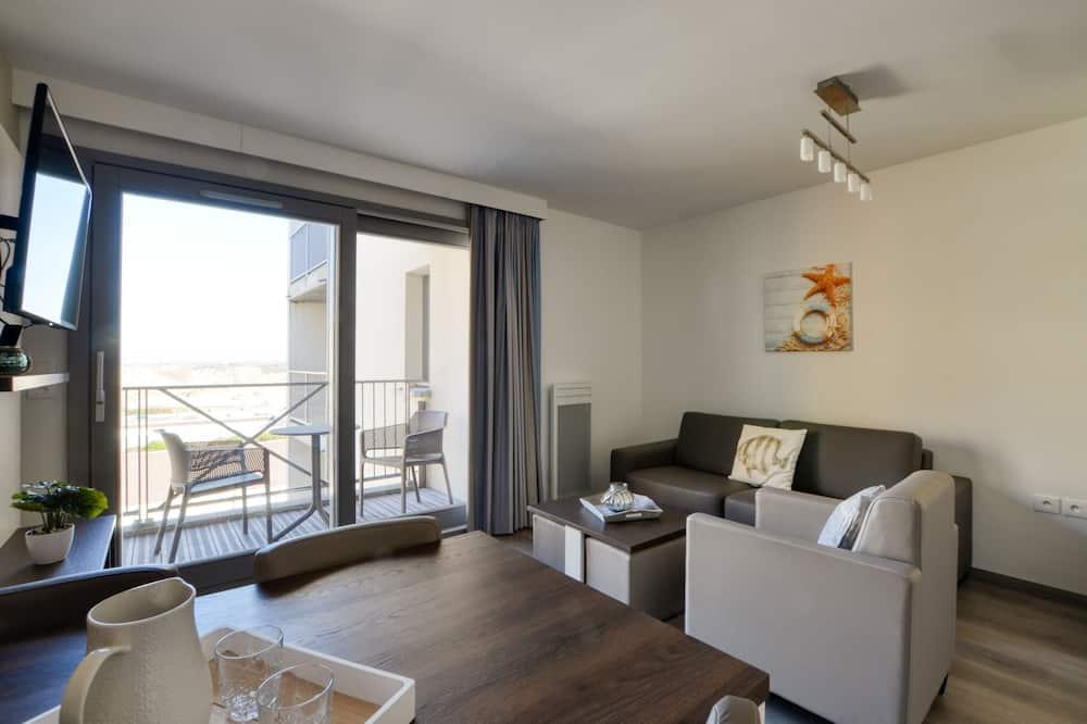 Departamento estándar, balcón - Sala de estar
