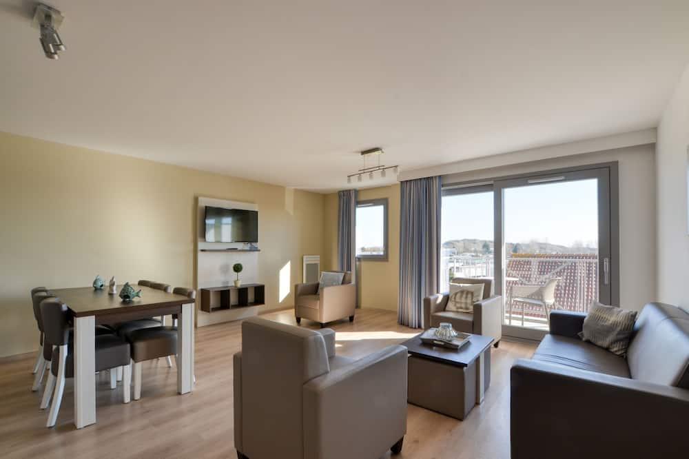 Departamento estándar, 3 habitaciones, terraza - Sala de estar
