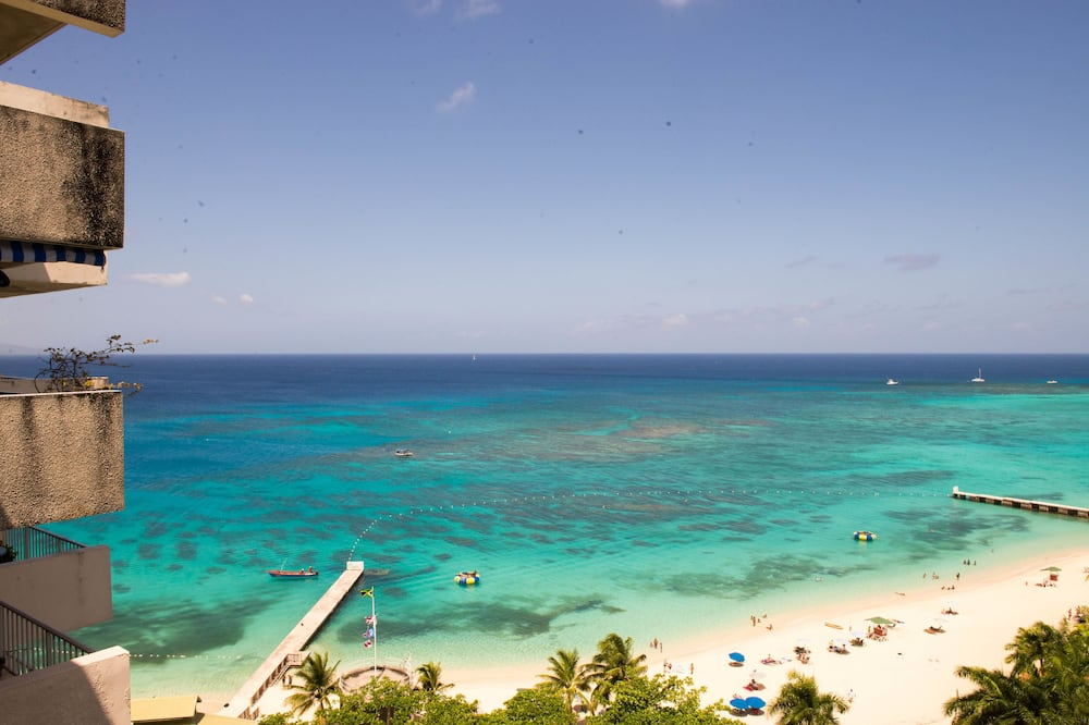 Studio Premium, pemandangan samudra, tepi pantai - Balkon