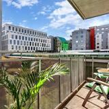 City Center, 1 Bedroom, Balcony City View is (Platous Gate 31)  - Balcony